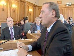 Председатель фракции Партии регионов в ВР Александр Ефремов