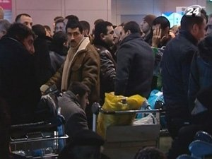 Хаос в аэропортах Москвы