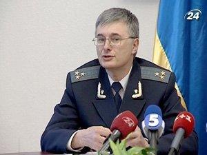 Начальник отдела поддержания государственного обвинения в судах ГПУ Владимир Шилов