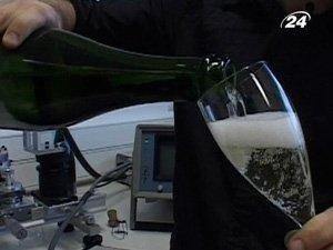 Правильное налива шампанского