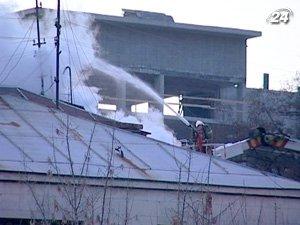 Ликвидировали пожар 15 единиц техники