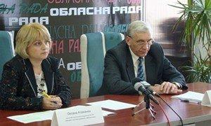 Оксана Атаманюк и Сергей Замицький