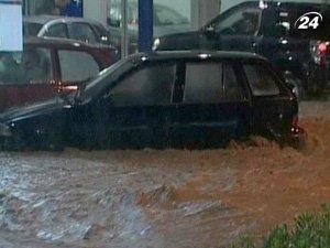 Грецию затопило