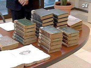 Украина вернула Грузии старинные книги