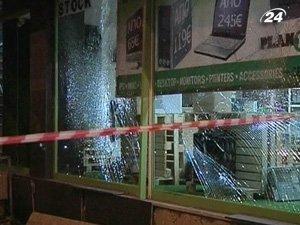 Взрыв возле ночного клуба в Афинах