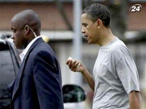 Президенту США разбили губу во время игры в баскетбол