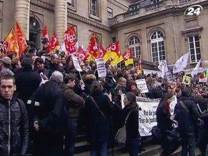Судьи Франции организовали забастовку