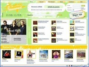 Сайт MP3Fiesta
