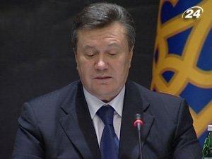 Президент Украины Виктора Янукович