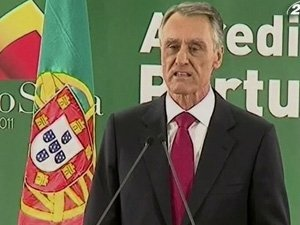 Президент Португалии Анибал Каваку Силва