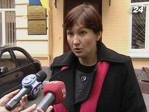 Представитель Мирославы Гонгадзе Валентина Теличенко