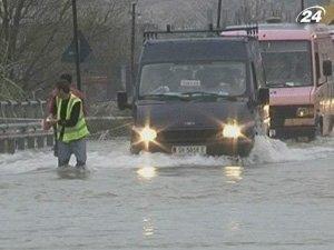 Балканские страны страдают от наводнения