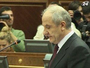 Президент Косово Фатмир Сейдиу