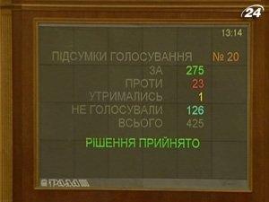 Рада приняла Бюджет-2011