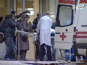 Пострадавших доставляют в московские больницы