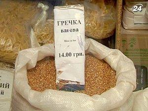В начале февраля гречка в Киеве стоила 25 грн. за кг