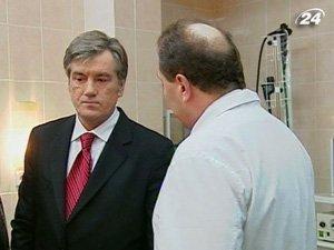 Ющенко согласился на повторный анализ крови