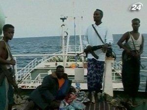 Сомалийские пираты захватили украинский