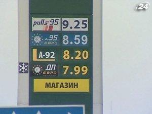 Стоимость бензина в Украине растет