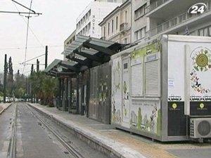 Работники метро Афин начнут новый год забастовкой