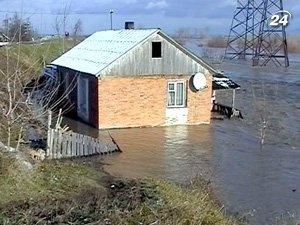 Высокая вода на Закарпатье
