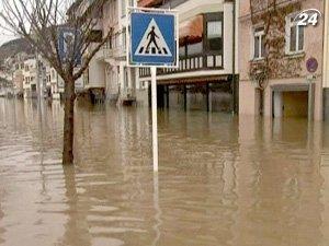 Потепление привело наводнения в Германии и Польше