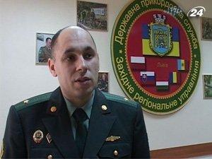 Начальник пресс-службы Западного-регионального управления АДПС Владимир Шеремет