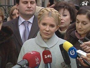 Юлию Тимошенко в понедельник вновь ждут в Генпрокуратуре