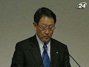 Президент компании Toyota Акио Тойода