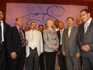 Хиллари Клинтон в Йемене первый представитель США с 1989 года