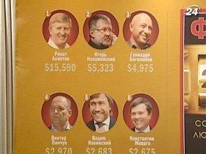 Список богачей пополнили 25 новых лиц
