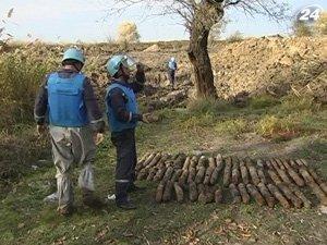 На Одесщине нашли около ста снарядов
