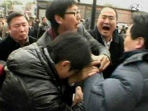 Полицейские в Шанхае разогнали местных активистов