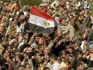 Протесты в Египте продолжаются с 25 января