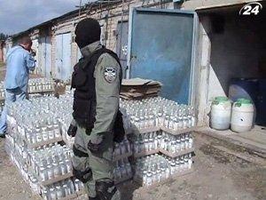 Нелегальный ликеро-водочный завод