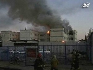 Пожар за решеткой
