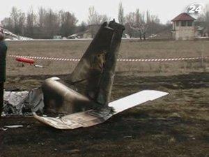 На Киевщине упал легкомоторный самолет