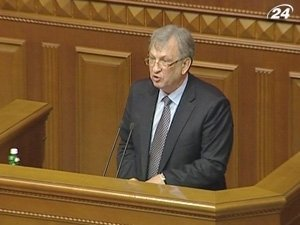 Министр финансов Украины Федор Ярошенко докладывает об аудите Тимошенко