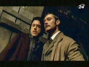 Кадр из фильма про Шерлока Холмса