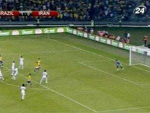 Бразилия разгромила Иран