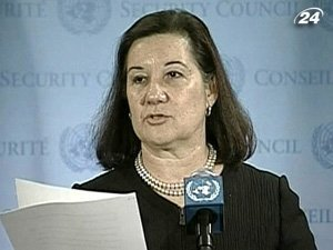 Председатель Совета Безопасности ООН Мария Луиза Риберио Виотти