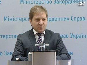 Руководитель управления информационной политики МИД Украины Олег Волошин