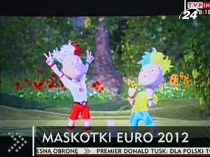 В Варшаве презентовали талисман к Евро-2012