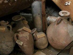 Артефакты подняты с затонувшего судна