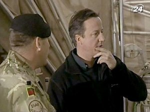 Дэвид Кэмерон заявил о выводе войск из Афганистана в 2011 году