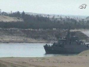 Два корабля ВМС Ирана впервые за 30 лет вошли в Суэцкий канал