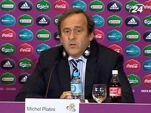 Президент Союза европейских футбольных ассоциаций Мишель Платини
