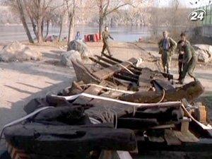 Казацкий корабль начале ХVIII века