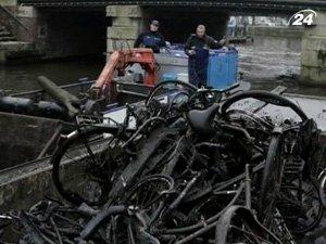 Затонувшие велосипеды