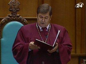 Председатель Конституционного суда Украины Анатолий Головин
